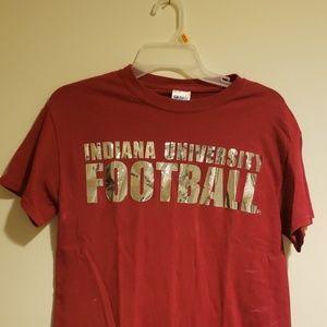 Indiana University football t shirt